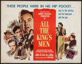 "Movie Posters:Academy Award Winners, All the King's Men (Columbia, 1949). Half Sheet (22"" X 28"") Style A. Academy Award Winners.. ..."