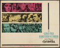 "Movie Posters:Historical Drama, Cleopatra (20th Century Fox, 1963). Half Sheet (22"" X 28"").Historical Drama.. ..."