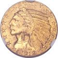 Indian Half Eagles, 1912-S $5 MS61 NGC. CAC....