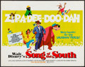 "Movie Posters:Animation, Song of the South (Buena Vista, R-1973). Half Sheet (22"" X 28""). Animation.. ..."