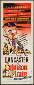 "Movie Posters:Adventure, The Crimson Pirate (Warner Brothers, 1952). Insert (14"" X 36""). Adventure.. ..."