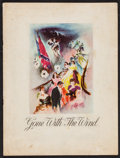 "Movie Posters:Academy Award Winners, Gone with the Wind (MGM, 1939). Souvenir Program (Multiple Pages,9"" X 12"") Southern Edition. Academy Award Winners.. ..."