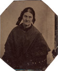 Photography:Tintypes, Mary Mimms: A Tintype Photo of the Woman Who Was Both Jesse James'Aunt and His Mother-in-Law. ...
