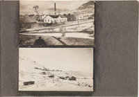 Tonopah, Nevada: An Important Early Album of Forty Original Photos from the Very Early 1900s
