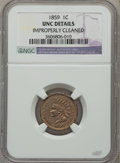 Indian Cents, 1859 1C -- Improperly Cleaned -- NGC Details. UNC. NGC Census:(0/15). PCGS Population (16/1489). Mintage: 36,400,000. Numi...