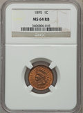 Indian Cents: , 1895 1C MS64 Red and Brown NGC. NGC Census: (168/95). PCGSPopulation (215/31). Mintage: 38,343,636. Numismedia Wsl. Price ...