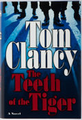 Books:Mystery & Detective Fiction, Tom Clancy. SIGNED. The Teeth of the Tiger. Putnam, 2003. First edition, first printing. Signed by the author. P...
