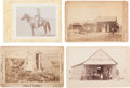 Photography:Cabinet Photos, Early Nebraska: Four Fine Cabinet Photos, Circa 1880s. ... (Total: 4 Items)