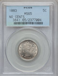 Liberty Nickels: , 1883 5C No Cents MS65 PCGS. PCGS Population (1376/378). NGC Census:(1852/531). Mintage: 5,479,519. Numismedia Wsl. Price f...