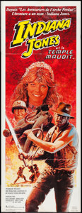 "Movie Posters:Adventure, Indiana Jones and the Temple of Doom (Paramount, 1984). FrenchPantalon (23.5"" X 62""). Adventure.. ..."