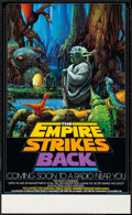 "Movie Posters:Science Fiction, The Empire Strikes Back (National Public Radio, 1982). NPR Poster(17"" X 28"") Advance. Science Fiction.. ..."