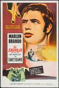 """Movie Posters:Exploitation, The Wild One (Columbia, 1954). Argentinean Poster (29"""" X 43""""). Exploitation.. ..."""