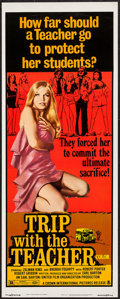 "Movie Posters:Sexploitation, Trip with the Teacher (Crown International, 1974). Insert (14"" X36""). Sexploitation.. ..."