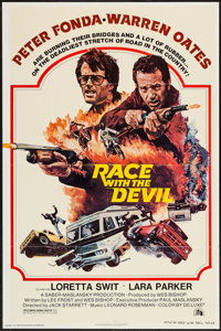 """Race with the Devil & Others Lot (20th Century Fox, 1975). One Sheets (17) (27"""" X 41"""") Style A & Regul..."""