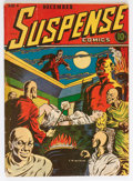 Golden Age (1938-1955):Horror, Suspense Comics #1 (Continental Magazines, 1943) Condition:GD/VG....
