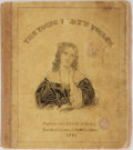 Books:Americana & American History, [Americana]. The Young Lady's Toilet. Kellogg, 1841.Lithographed title and 19 pages, each with an illustration ...