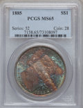 Morgan Dollars: , 1885 $1 MS65 PCGS. PCGS Population (7985/1397). NGC Census:(9896/1902). Mintage: 17,787,768. Numismedia Wsl. Price for pro...