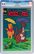 Modern Age (1980-Present):Miscellaneous, Winnie the Pooh #33 (Gold Key/Whitman, 1984) CGC NM 9.4 White pages....