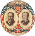 Political:Pinback Buttons (1896-present), Taft & Sherman: Outstanding Jugate Pocket Mirror....