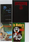 Books:Science Fiction & Fantasy, [Subterranean Press]. Peter Straub, Fritz Leiber, Joe Lansdale, and Others. Group of Four First Edition Books Published by Sub... (Total: 4 Items)