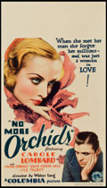 """Movie Posters:Drama, No More Orchids (Columbia, 1932). Midget Window Card (8"""" X 14"""")....."""