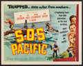 """Movie Posters:Thriller, SOS Pacific & Others Lot (Universal International, 1960). Half Sheets (4) (22"""" X 28""""). Thriller.. ... (Total: 4 Items)"""
