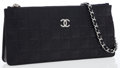 Luxury Accessories:Bags, Chanel Black Lambskin Leather Precious Symbols Pochette ShoulderBag. ...