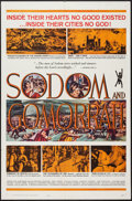 "Movie Posters:Historical Drama, Sodom and Gomorrah (20th Century Fox, 1963). One Sheet (27"" X 41"").Historical Drama.. ..."
