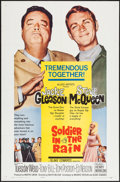 "Movie Posters:Comedy, Soldier in the Rain (Allied Artists, 1964). One Sheet (27"" X 41"")& Lobby Card Set of 8 (11"" X 14""). Comedy.. ... (Total: 9Items)"
