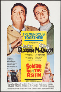 """Soldier in the Rain (Allied Artists, 1964). One Sheet (27"""" X 41"""") & Lobby Card Set of 8 (11"""" X 14&quo..."""