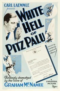 "The White Hell of Pitz Palu (Universal, 1930). One Sheet (27"" X 41"")"