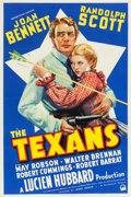 "Movie Posters:Western, The Texans (Paramount, 1938). One Sheet (27"" X 41"").. ..."
