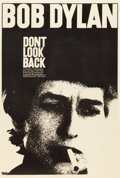 "Movie Posters:Rock and Roll, Don't Look Back (Leacock-Pennebaker, 1967). One Sheet (27"" X 41"")....."