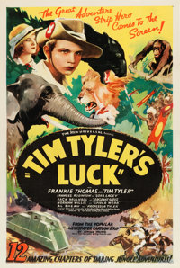 "Tim Tyler's Luck (Universal, 1937). Stock One Sheet (27"" X 41"")"