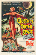 """Movie Posters:Science Fiction, Queen of Outer Space (Allied Artists, 1958). One Sheet (27"""" X 41"""").. ..."""