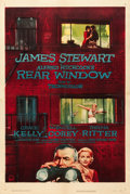"Movie Posters:Hitchcock, Rear Window (Paramount, 1954). One Sheet (27"" X 41"").. ..."