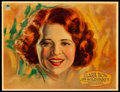 """Movie Posters:Comedy, The Wild Party (Paramount, 1929). Lobby Card (11"""" X 14"""") &Mobile Hanger (10"""" X 11"""").. ... (Total: 2 Items)"""