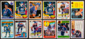 Hockey Cards:Lots, 1981-1990 Wayne Gretzky Card Collection (63) With Six Autographed....