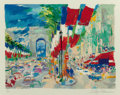 Fine Art - Work on Paper:Print, LEROY NEIMAN (American, b. 1926). Paris Arc II. Colorserigraph. 21 x 26-1/2 inches (53.3 x 67.3 cm) (sight). Ed.4/250...