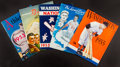 Baseball Collectibles:Publications, 1953-77 Major League Baseball Yearbooks Lot of 5....