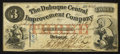 Obsoletes By State:Iowa, Dubuque, IA- The Dubuque Central Improvement Company $3 Feb. 1,1858 Oakes 48-1. ...