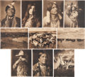 Photography:Studio Portraits, Identified Native Americans and Western Images.... (Total: 10 Items)