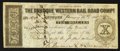 Obsoletes By State:Iowa, Dubuque, IA- The Dubuque Western Rail Road Compy. $10 Jan. 15, 1858Oakes 53-6. ...
