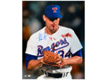 "Movie/TV Memorabilia:Autographs and Signed Items, AUTOGRAPHED NOLAN RYAN ""BLOODY LIP"" PHOTOGRAPH (8 X 10 IN.).Accompanied by a Certificate of Authenticity. Benefiting..."