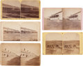 Photography:Stereo Cards, Stereoviews: Lot of Five Dakota Territory Views,... (Total: 5 Items)