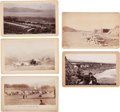 Photography:Studio Portraits, Boudoir Cards: Early California Scenes.... (Total: 5 Items)