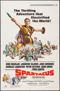 "Movie Posters:Action, Spartacus (Universal, R-1967). One Sheet (27"" X 41""). Action.. ..."