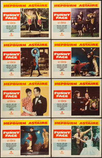 """Funny Face (Paramount, 1957). Lobby Card Set of 8 (11"""" X 14""""). Romance. ... (Total: 8 Items)"""