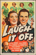 "Movie Posters:Musical, Laugh It Off (Universal, 1939). One Sheet (27"" X 41""). Musical.. ..."