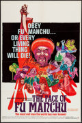 "Movie Posters:Horror, The Face of Fu Manchu (Seven Arts, 1965). One Sheet (27"" X 41""). Horror.. ..."